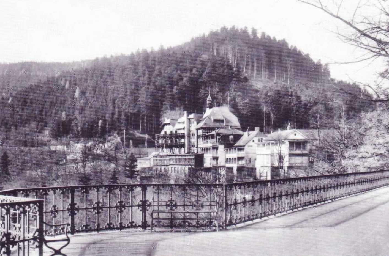 Sommerfrische im Schwarzatal um 1900