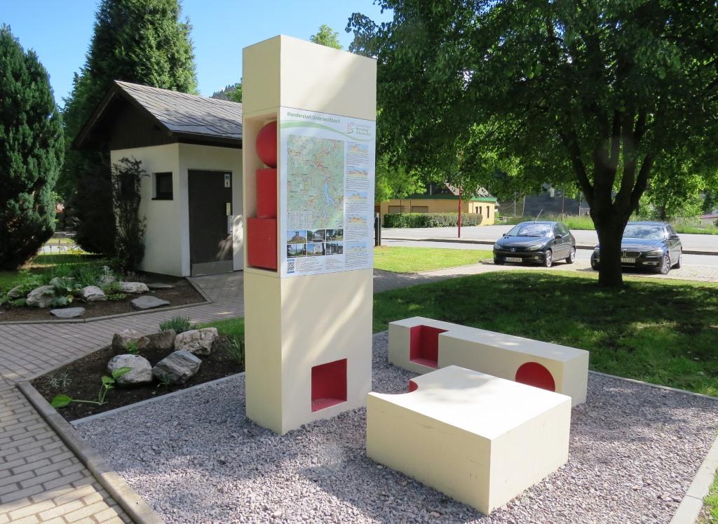 Wanderstart Unterweißbach - Modellprojekt der vorangegangenen Förderperiode