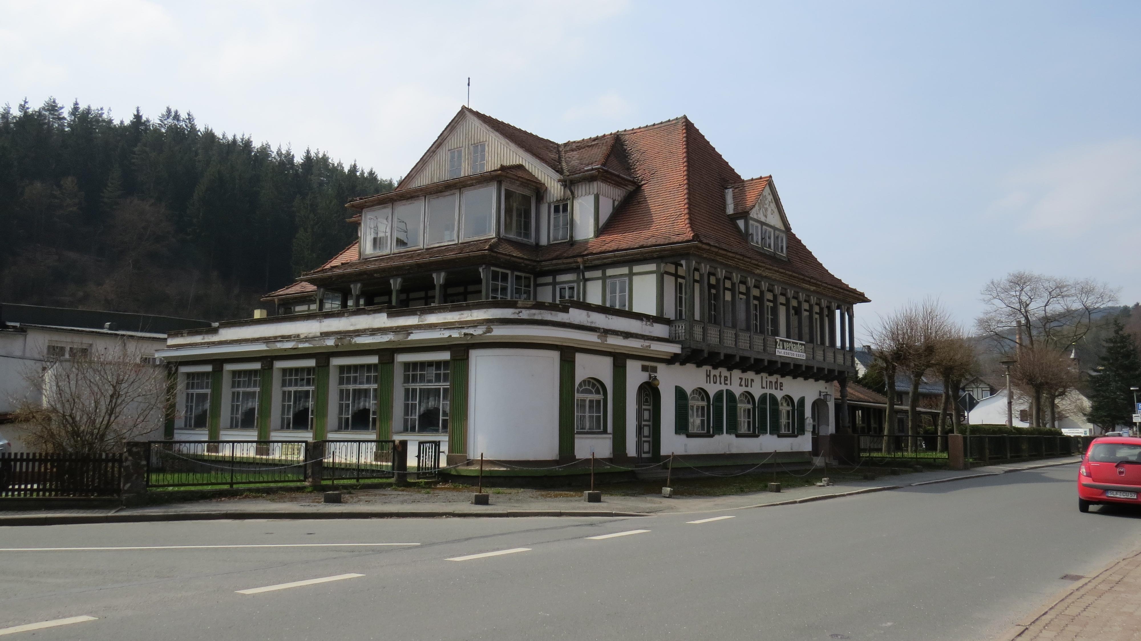 Hotel 'Linde' in Sitzendorf