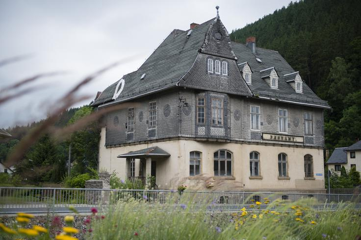 Alte Post in Mellenbach, Foto: Dörthe Hagenguth