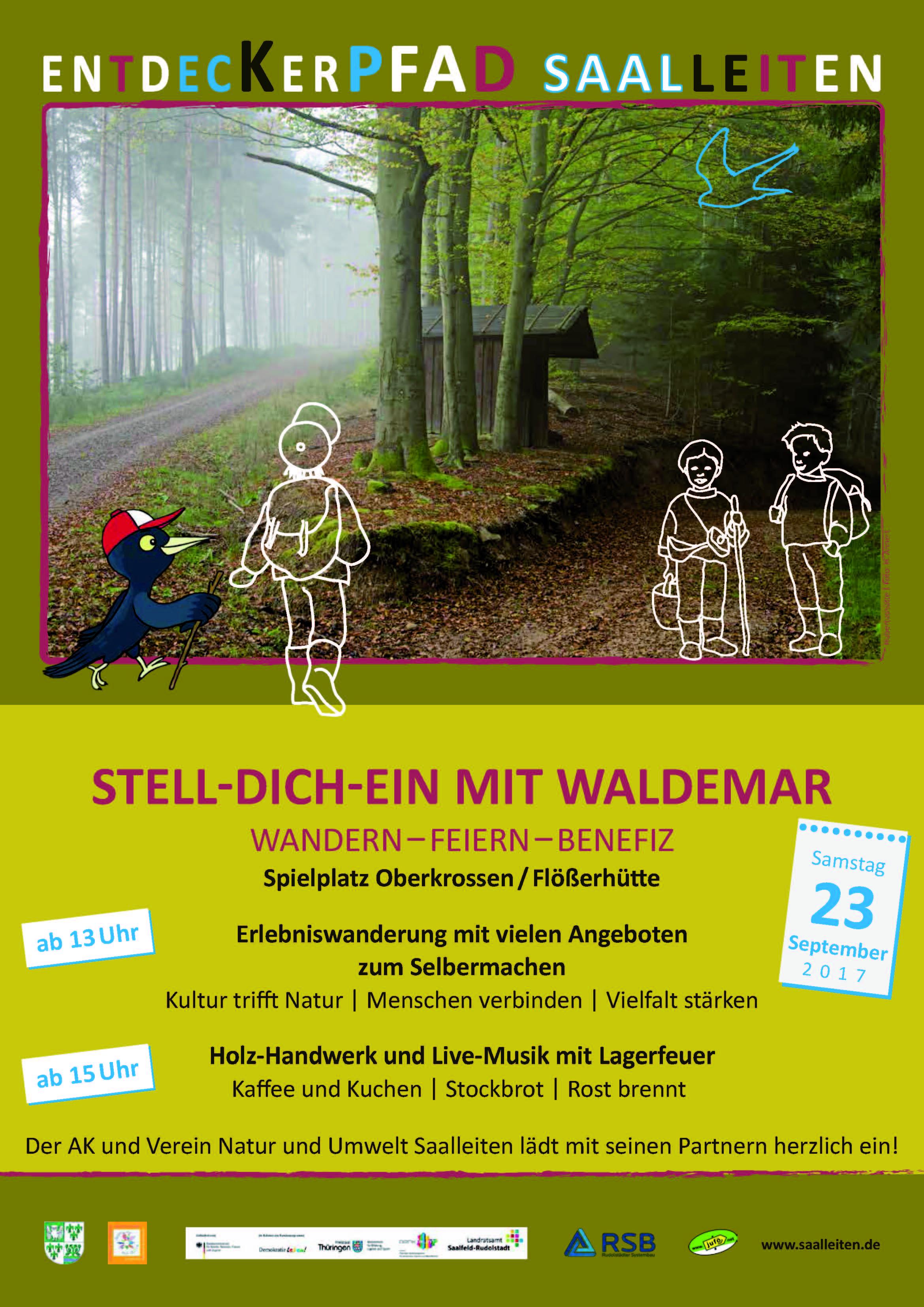 Einladung zum Stelldichein mit Waldemar