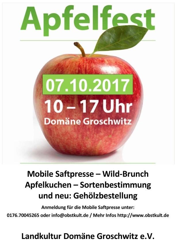 Groschwitzer Apfelfest 2017