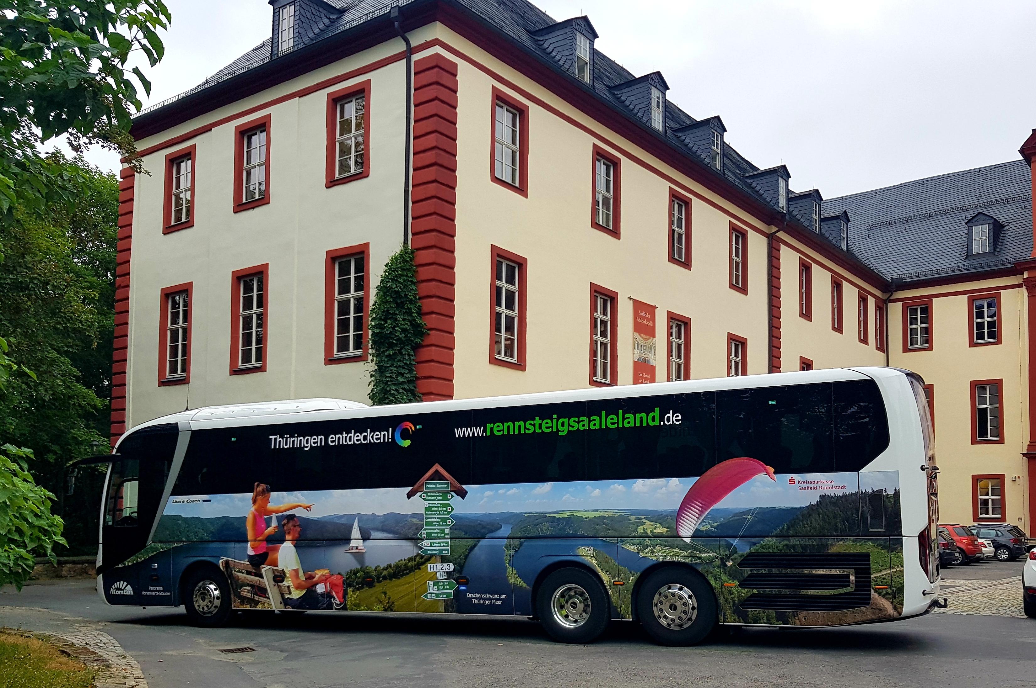 LEADER Projekt - Werbefläche Reisebus