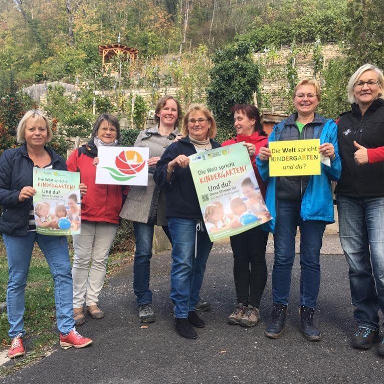Initiative 'Rudolstadt blüht auf' unterstützt die Kindergarten-Kampagne / Foto: Anja Scholl