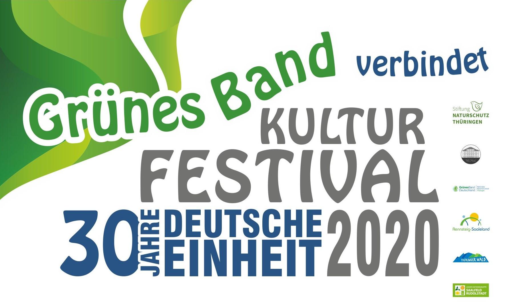 Kulturfestival - 30 Jahre Deutsche Einheit // 03.10. - 18.10.2020